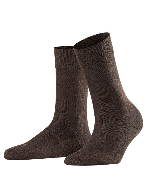 Damen Socken SENS.LONDON dunkelbraun